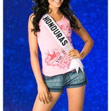 MU 35 MISS HONDURAS - Wendy Salgado