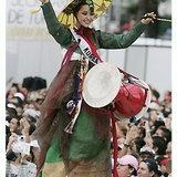 ภาพสาวงามผู้เข้าประกวดมิสยูนิเวิร์ส ในชุดประจำชาติ