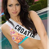 MU 18 MISS CROATIA - Jelena Maros