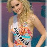 MU 6 MISS AUSTRALIA - Kimberley Busteed