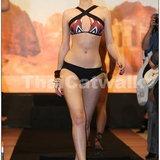 แฟชั่นโชว์ชุดว่ายน้ำ ซินดี้ชวนคุณท่องทะเลทรายผ่านผลงาน Cindy for Jantzen