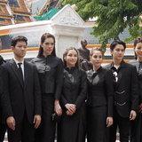 ชุดไทยจิตรลดา ดารา