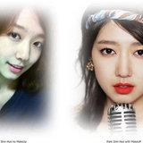 Park Shin Hye, ดาราไม่แต่งหน้า