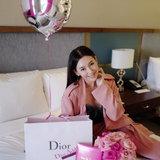 เบลล่า ที่งานปาร์ตี้ Dior Beauty