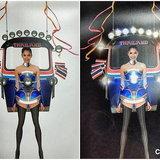 แนท อนิพรณ์ กับชุดตุ๊กตุ๊ก ไทยแลนด์