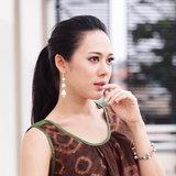 แฟชั่นผ้าไทยของ ทับทิม อัญรินทร์