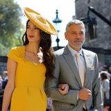 George Clooney นักแสดงฮอลลีวู้ดมาพร้อมภรรยาทนายความสาวชาวอังกฤษ Amal Clooney