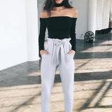 Casual Chic แต่งเท่แบบไม่พยายาม ด้วย กางเกงขายาว สไตล์สายฝ
