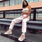 """มาดูกัน """"Fila Disruptor Sneaker"""" ยอดฮิตของสาวๆ จับคู่กับเสื้อผ้าแบบไหนดี"""