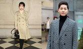 ส่องคู่รักซุปตาร์ 'ซงฮเยคโย' และ 'ซงจุงกิ' เข้าร่วมงานแฟชั่นโชว์ Dior ที่กรุงปารีส