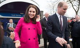 เจ้าหญิงเคทใส่โค้ทสีชมพูซ้ำ ตัวเดียวกับตอนทรงพระครรภ์เจ้าหญิงชาร์ลอตต์