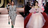"""""""ใหม่ ดาวิกา"""" โกอินเตอร์บนรันเวย์ Dolce & Gabbana ตาม """"ปู ไปรยา"""" ไปติดๆ ในซีซั่นนี้"""