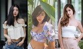 30 ไอเดียเสื้อครอป แฟชั่นสุดคิวท์ เซ็กซี่เบาๆ ของดาราไอดอลไทย