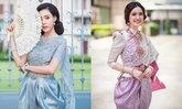 พาส่องไอเดียชุดไทยสวยๆ ไปร่วมงานอุ่นไอรัก