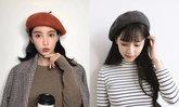 รวมแฟชั่นหมวกหน้าหนาว สไตล์สาวเกาหลี สวยน่ารักสุดๆ