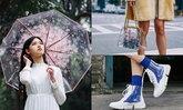 """สวยได้ในวันฝนตกด้วย 5 ไอเทมแฟชั่น """"พลาสติก PVC"""" มีไว้ไม่กลัวแฉะ"""