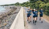 """ทดสอบประสิทธิภาพ รองเท้า adidas x Parley Alphabounce กับกิจกรรม """"วิ่งเพื่อมหาสมุทร (Run For The Oceans)"""""""