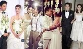 10 อันดับชุดแต่งงานดารา เก๋ สวย เลอค่าที่สุดปี 2556