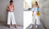 กางเกงขากระบอกสีขาว ใส่กับอะไรให้เริ่ด?!