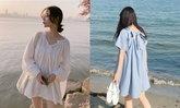 เปลี่ยนลุคเป็นสาวหวานด้วย Basic Dress ตัวเดียวทั้งคิวท์และมินิมอล