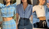 I LOVE BLUE COLOUR! แมทช์ 50 แฟชั่นโทนสีฟ้าเอาไว้ใส่ในวันสบายๆ