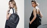 Women's Backpack โทนดำเรียบหรูดูดีต้องมีสักใบ
