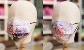 ร้านภูฟ้า จำหน่ายหน้ากากผ้าลายดอกไม้ จากพระตำหนักดอยตุง