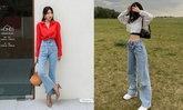 10 วิธีใส่กางเกงยีนส์ขาบาน ให้ชิคกว่าเดิม