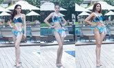 มิสยูนิเวิร์สไทยแลนด์ 2020 ในชุดว่ายน้ำแบรนด์ไทย สวยสดใส และแซ่บมาก