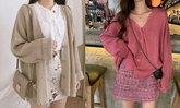 30 แฟชั่นเสื้อคาร์ดิแกนสวยๆ รับลมหนาว 2020