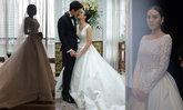 รวมชุดแต่งงานดารา แบรนด์ POEM ดีไซน์เรียบโก้ ใส่แล้วสวยสง่า