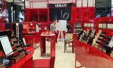 GIORGIO ARMANI BEAUTY เปิดบิวตี้บูทีคใหม่แห่งที่ 3 ในไทย ด้วยสีแดงหรูหรา