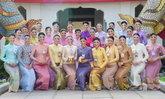30 ผู้เข้าประกวดนางสาวไทยสง่างามในชุดไทยจิตรลดา เยี่ยมชมสถานที่สำคัญในกรุงเทพฯ