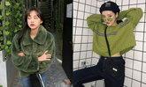 คุมโทนกัน! เสื้อกันหนาวสีเขียวคลีนๆ สายมินิมอลควรมี