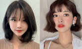 ทรงผมสั้นเกาหลี 2021 ทรงน่ารักๆ ไม่แก่