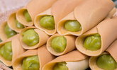 วิธีทำ ขนมโตเกียวนิ่มไส้สังขยาใบเตย