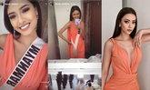 อแมนด้า ออบดัม ให้ Miss Universe Myanmar 2020 ยืมชุด หลังจากชุดหาย