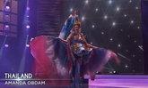 ชุดปลากัด ปังมากบนเวที Miss Universe 2020  อแมนด้า ได้ใจเต็มๆ