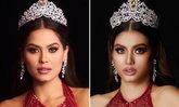 """น้องฉัตร เปลี่ยนลุค """"อายตา"""" จนเหมือน """"อแมนด้า"""" และ Miss Universe 2020"""
