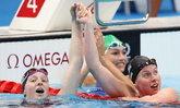 โฟกัสอะไรดี นักกีฬาว่ายน้ำ โอลิมปิกเกมส์ 2020 กับสีเล็บสุดโดดเด่น