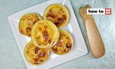 วิธีทำ ทาร์ตไข่ สูตรผสมไส้อย่างง่าย หอมอบอวลชวนอ้วนสุดๆ