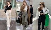 วิธีแต่งตัว เสื้อครอป+กางเกงสแล็ค ให้ออกมาดูดี!