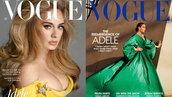 Adele ขึ้นปกนิตยสาร VOGUE ทั้งของอังกฤษและอเมริกาในเดือนเดียวกัน