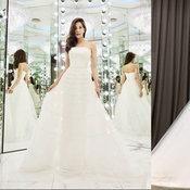 ก้อย รัชวิน ชุดแต่งงาน