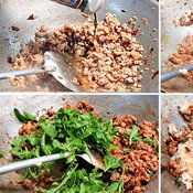 วิธีทำข้าวผัดกะเพรา