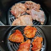 วิธีทำไก่ย่างด้วยหม้อทอดไร้น้ำมัน