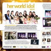 her world idol 2015