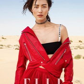 แฟชั่นชุดแดงของซุปตาร์เมืองจีน