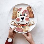 คิ้วท์จนใจละลาย รวม 22 ไอเดียตกแต่งอาหารเช้าให้น่ารัก ประทับใจคนทาน