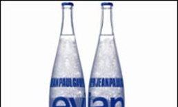 Evian par Jean Paul Gaultier Prêt-à-Porter bottle